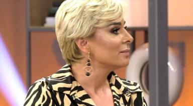 Ana María Aldón durante 'Viva la Vida'