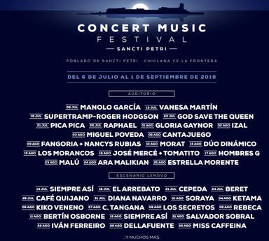 Confirmado el cartel delII Sancti Petri Concert Music Festival