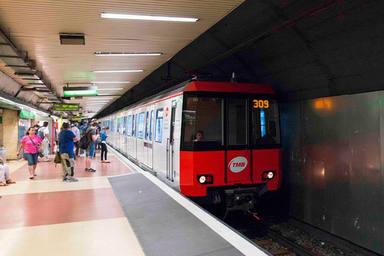 Aquests són els talls al metro de Barcelona durant l'agost