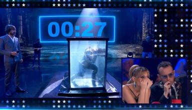 Cunde el pánico en 'Got Talent' al tener que ser atendido de urgencia uno de sus concursantes