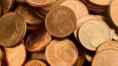 Les monedes d'un i dos cèntims podrien desaparèixer