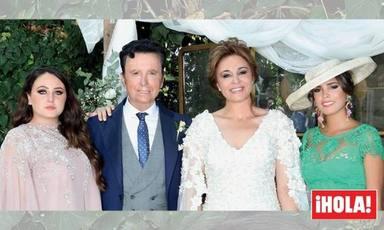 Rocío Flores y Gloria Camila en la boda de Ortega Cano y Ana María Aldón