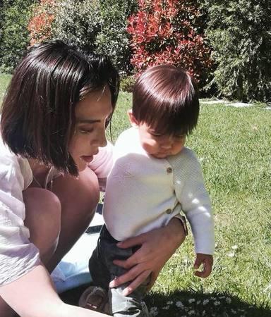 Tamara Falcó recupera la sonrisa junto a su sobrino y ahijado Miguel