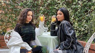 El momento más incómodo de Rosalía con las Kardashian