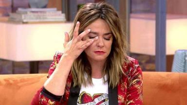 Toñi Moreno rota en directo en Viva la vida