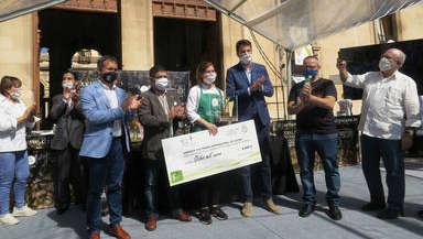 Ingrid Serra es la primera mujer, en 17 años, en ganar el concurso de cocina Jaén, Paraíso Interior