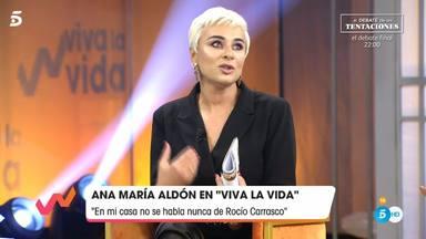 Ana María Aldón aclara sus declaraciones sobre Rocío Carrasco en una revista