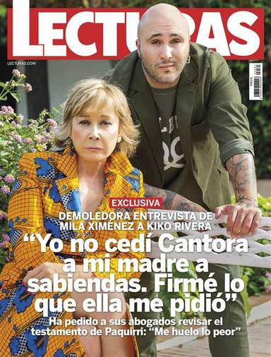 Portada de la revista Lecturas en la que Kiko Rivera destroza a Isabel Pantoja