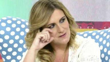 Carlota Corredera se emociona en Sálvame