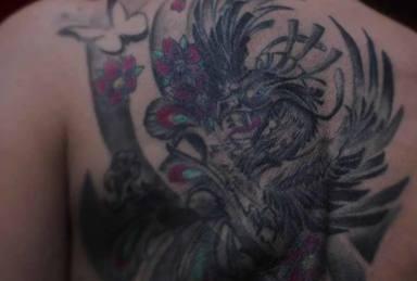 La verdad que hay detrás del gran tatuaje que tiene Rocío Carrasco en su espalda: Era un unicornio