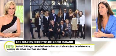 Rosa Benito, contundente tras conocerse la existencia de unos diarios secretos de Rocío Jurado: Me molesta