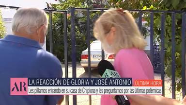 Gloria Mohedano y José Antonio escapan de las polémicas preguntas sobre la herencia de Rocío Jurado