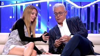 Alejandra Rubio y Jordi González durante el debate de 'Secret Story'