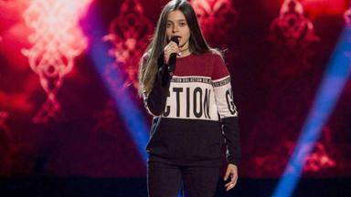La inesperada reacción de una concursante de 'La Voz Kids' que ha dejado sin palabras a todo el jurado