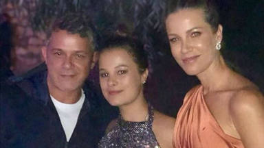 """El orgullo de Alejandro Sanz y Jaydy Michel por su hija Manuela: """"Te miro y se me sale el corazón"""""""