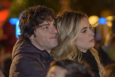 Jordi Cruz junto a Rebecca Lima