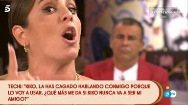 Anabel Pantoja defiende a Kiko Rivera de los ataques de Techi