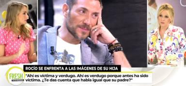 """Alba Carrillo contradice a su amiga, Rocío Carrasco, y se posiciona con Rocío Flores: """"Hay algo de verdad"""""""