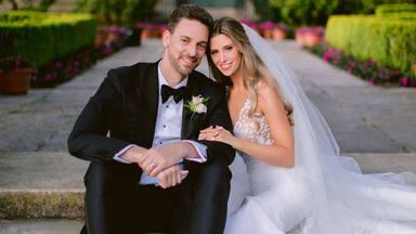 Pau Gasol ya es un hombre felizmente casado