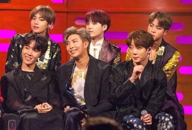 BTS, grupo de K-Pop de moda