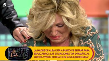 Lydia Lozano se echa a llorar en 'Sálvame'