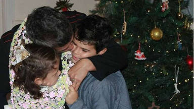 El momento favorito del día de Alejandro Sanz junto a sus hijos pequeños Alma y Dylan