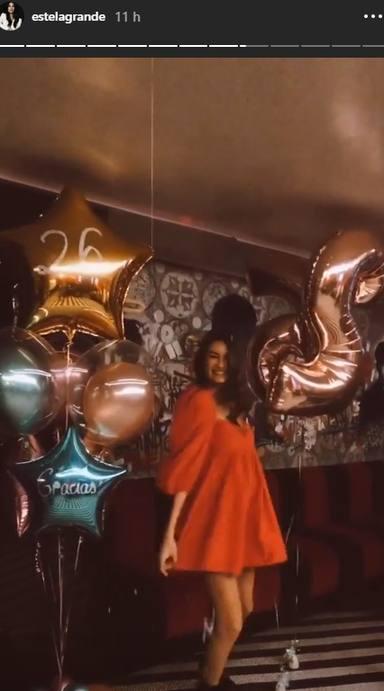 Estela Grande celebra sus 26 años