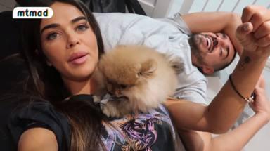 Violeta Mangriñán la lía al entrar al supermercado con su perro