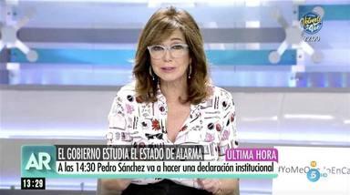 Ana Rosa Quintana pide a su hijo que vuelva a casa