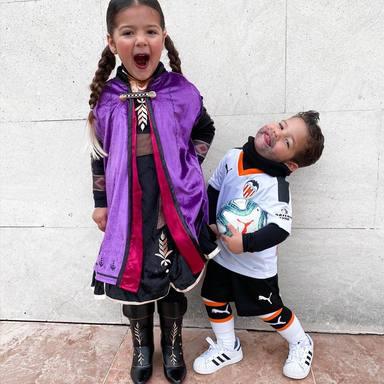 Los hijos de Tamara Gorro y Ezequiel Garay