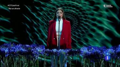 Eva canta en la final de Operación Triunfo 2020