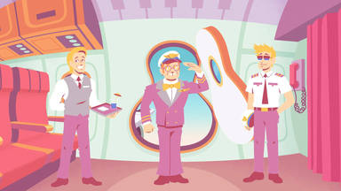 """Unos dibujos animados protagonizan el videoclip de """"Learn To Fly"""" de Surfaces con Elton John"""
