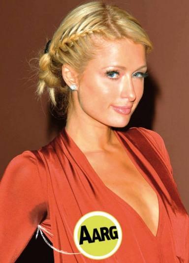 Paris Hilton, en Cuore