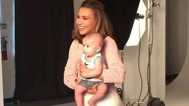 Naya Rivera con su hijo cuando era bebé