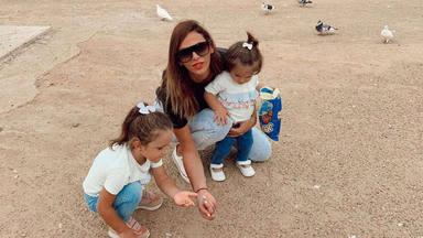 El truco con el que Irene Rosales protege a sus hijas de la prensa