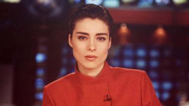 Los inicios de Sandra Barneda en televisión como reportera de Pedro Piqueras