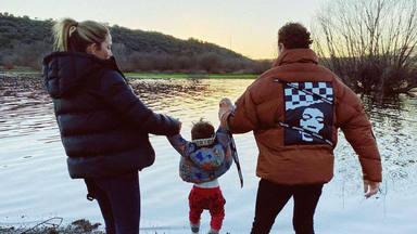 Primera imagen de David Bisbal con sus hijos Ella, Matteo y Bianca junto a Rosanna Zanetti