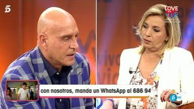 Matamoros destapa el motivo enfrentamiento entre Alejandra Rubio y Carmen Borrego