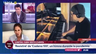 Pastora Soler analiza en TRECE lo que supuso el 'Resistiré' de CADENA 100: Historia de nuestra vida
