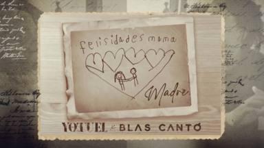 Aquí 'Madre' con Yotuel y Blas Cantó para el día de la madre celebrado en Latinoamérica el domingo 9 de mayo