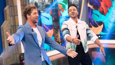 David Bisbal y Luis Fonsi se marcan el baile de Carlton antes de empezar 'El hormiguero'