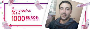 ¡Alberto Martínez de Alicante ha ganado 1.000 euros!