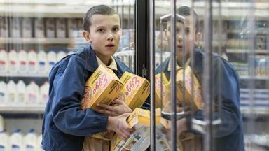 Eleven (Millie Bobby Brown) en 'Stranger things'