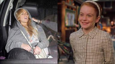 La comparativa que jamás quiso ver Lindsay Lohan, de estrella infantil a la decadencia