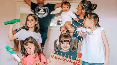 Verdeliss criticada por no usar mascarilla y sacar a sus hijos a la calle