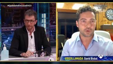 David Bisbal confiesa en 'El Hormiguero' los secretos de su cuarentena, con corte de rizos incluido