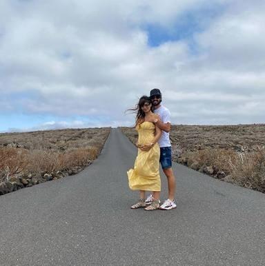Sara Sálamo, embarazada de su segundo hijo
