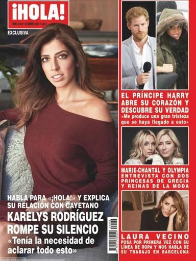 Karelys Rodríguez sobre Cayetano Rivera y Eva González