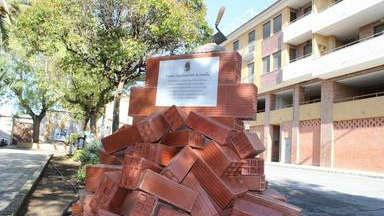 Monumento al Albañil en Jumilla