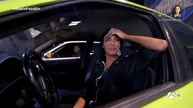 Pilar Rubio entra en pánico en su reto de conducción en 'El Hormiguero'